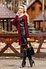 Модное осеннее женское платье, фото 2