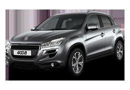 Защита двигателя и КПП для Peugeot (Пежо) 4008 2012+