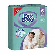 Подгузники Evy Baby размер 6, 16+ кг, 36 шт