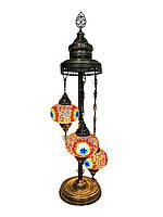 Напольный турецкий светильник Sinan из мозаики ручной работы цветной 5, фото 1