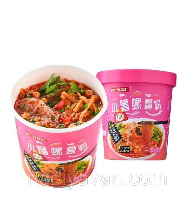 Картофельная вермишель  Лючжоу  с остро-кислым супом  148 г