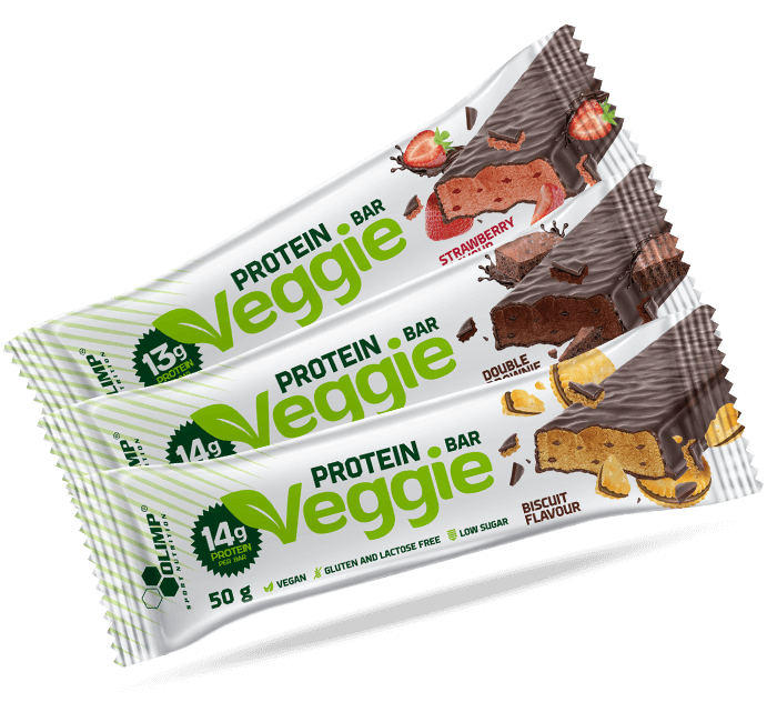 Olimp Veggie Protein Bar 24x50g