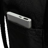 Модный рюкзак сумка канкен Fjallraven Kanken classic 16 черный женский, для девочки подростка, фото 6