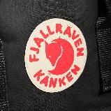 Модный рюкзак сумка канкен Fjallraven Kanken classic 16 черный женский, для девочки подростка, фото 5