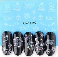 Слайдер водный для дизайна ногтей STZ-1102