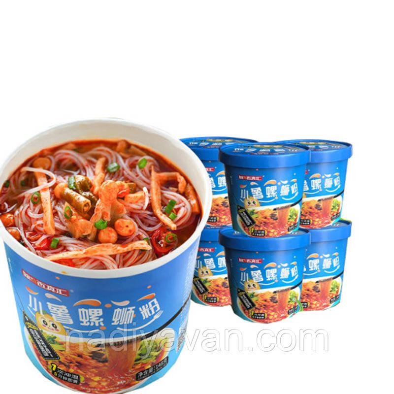 Батаная вермишель  Лючжоу  с остро-кислым супом  148 г