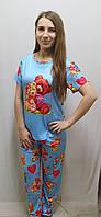 Пижама с брюками бамбук 536, фото 1