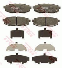 Гальмівні колодки задні SUBARU Impreza 2008- / Tribeca 2005- / TOYOTA GT 86 2012 - TRW