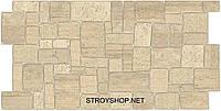 Декоративні Панелі ПВХ Камінь черепашник бежевий