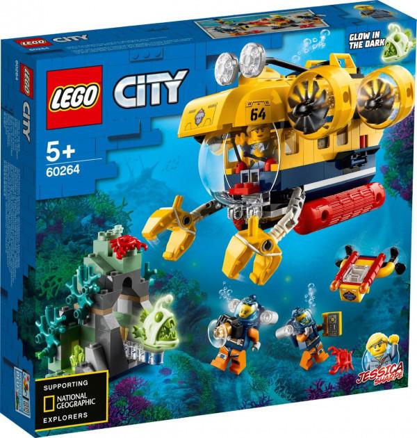 Lego City Океан Исследовательская Подводная Лодка