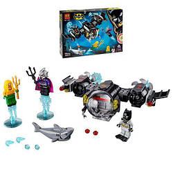 """Конструктор11233Super Heroes """"Подводный бой Бэтмена"""" 201 деталей."""