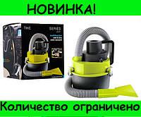 Автомобильный пылесос для сухой и влажной уборки The Black multifunction wet and dry vacuum! Распродажа