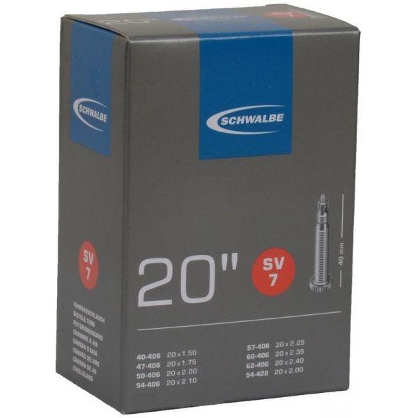 """Камера 20"""" 2,40 Schwalbe SV7 40мм EK 10415313"""