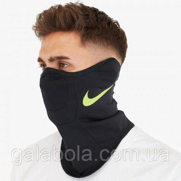 Термошарф бафф Nike Strike Winter Warrior Snood  BQ5832-014 (черный)