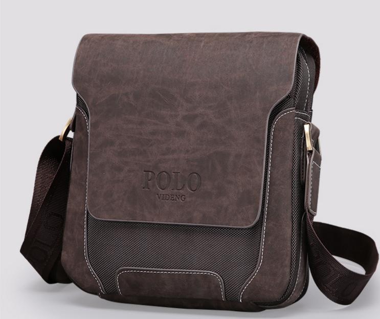 Стильная мужская сумка POLO. Высокое качество. Доступная цена. Интернет  магазин сумок. Код  КЕ253 39bfe8810f0c3