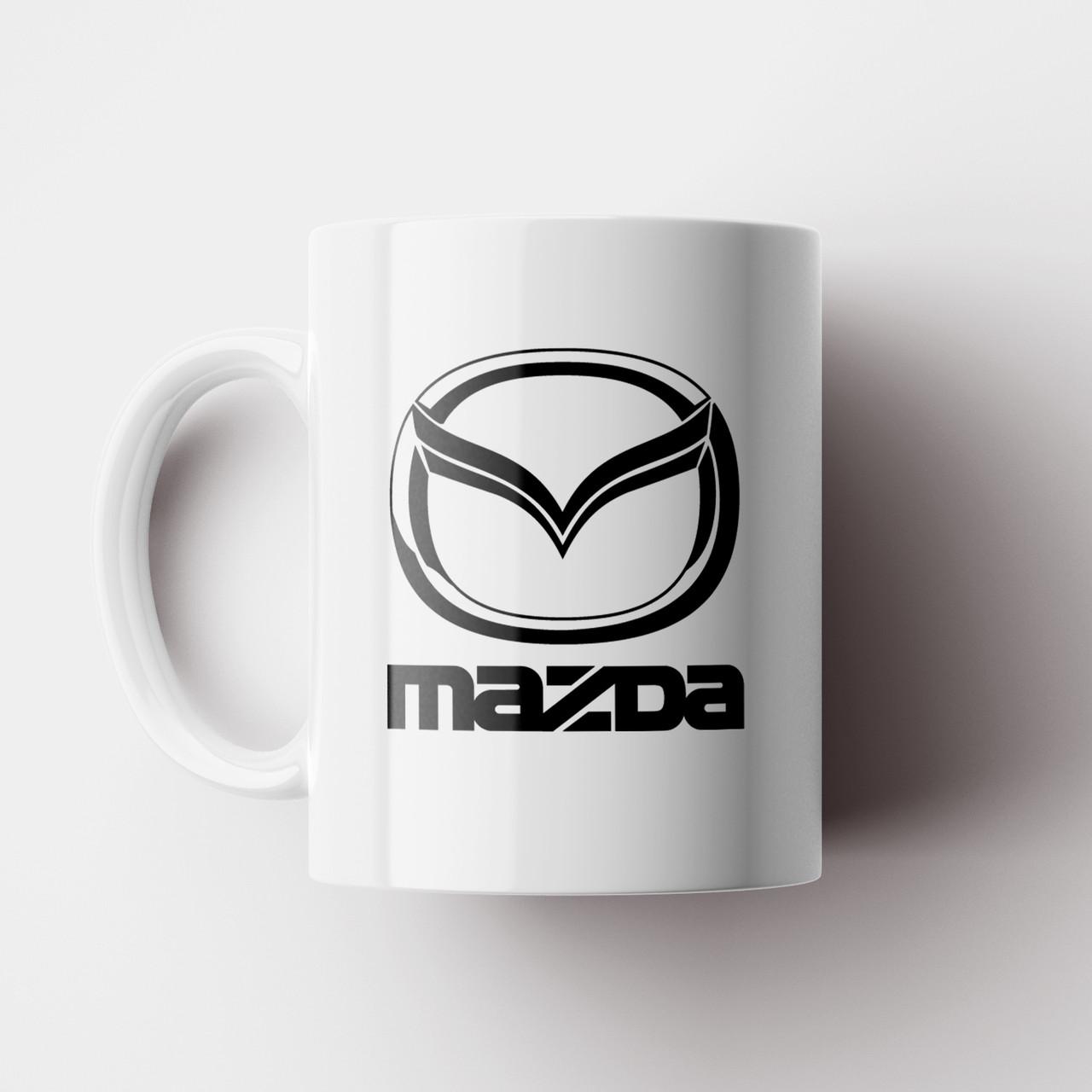 Кружка Mazda. Мазда