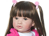 Кукла реборн c питомцем, рост 55см