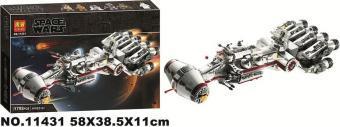 Конструктор 11431 Зоряні Війни «Блокадний корабель повстанців Тантив 4» 1792 деталей.