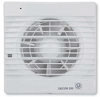 Вытяжной вентилятор Soler & Palau DECOR 200 CR с таймером и клапаном, фото 1