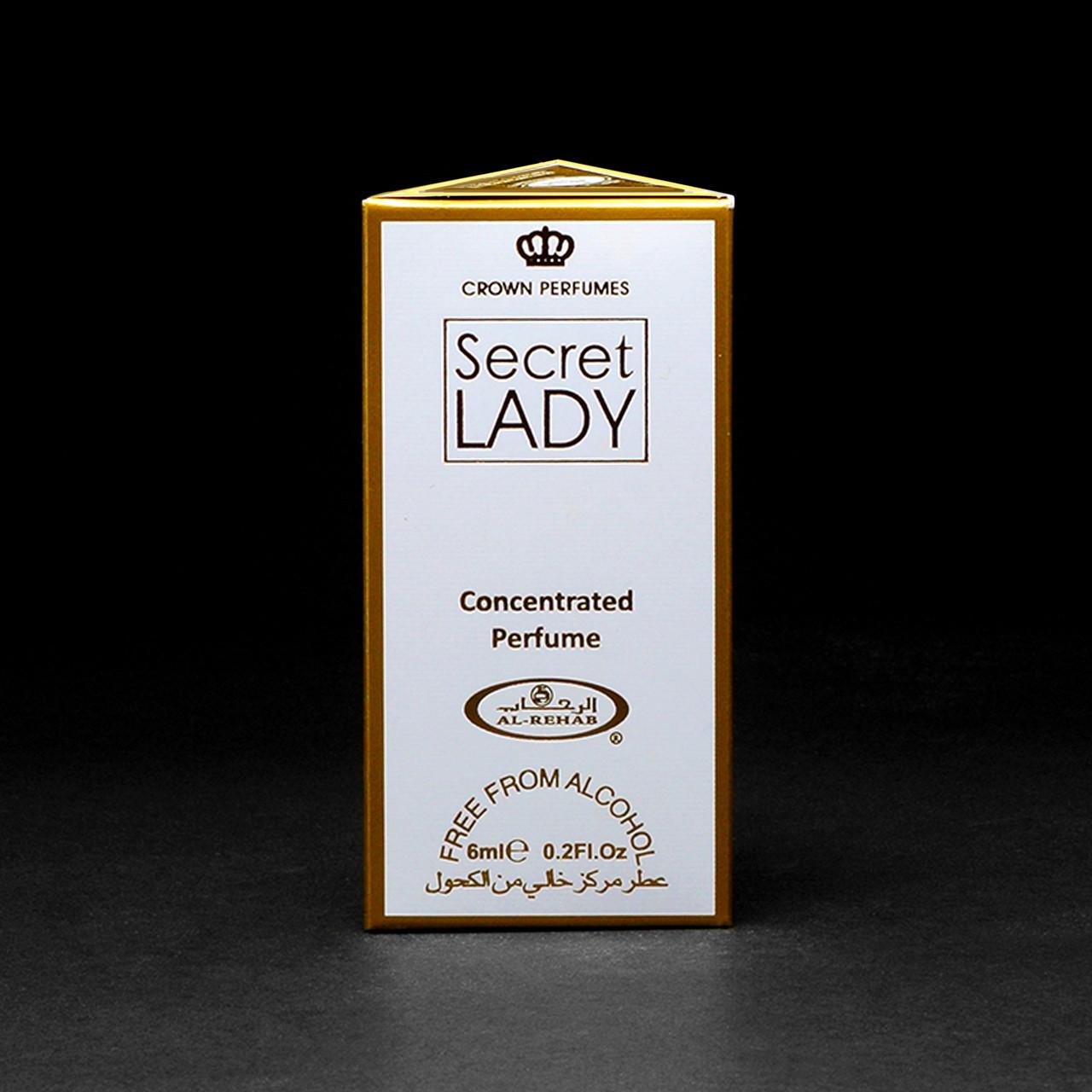 Масляні духи SECRET LADY від Al Rehab (Леді Таємниця від Аль-Рехаб). Ванільно-квітково-східний аромат!
