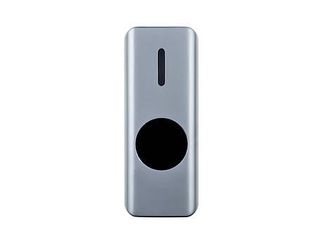 Кнопка выхода бесконтактная металлическая уличная накладная SEVEN K-7497NDW, фото 2