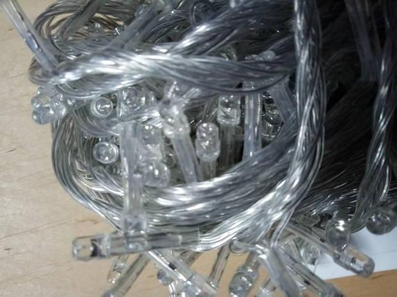 Новогодняя светодиодная гирлянда 500LED 28м теплый белый, фото 2