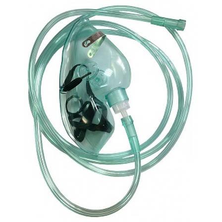Кислородная маска для концентратора кислорода при пневмониях, ИВЛ, фото 2
