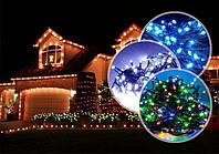 Светящаяся гирлянда LED 340 лампочек 10 метров, фото 1