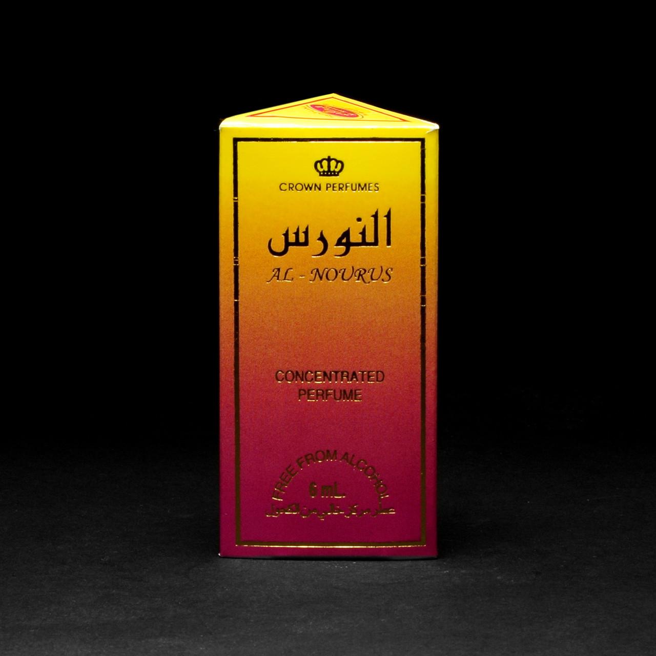 Масляные духи с фруктовым свежим ароматом AL NOURUS Al-Rehab (Аль Ноурус Аль-Рехаб) 6 мл