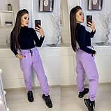 Теплые женские брюки-джоггеры (5 цветов) 15-770, фото 3