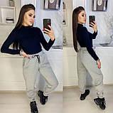 Теплые женские брюки-джоггеры (5 цветов) 15-770, фото 5