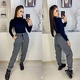 Теплые женские брюки-джоггеры (5 цветов) 15-770, фото 6