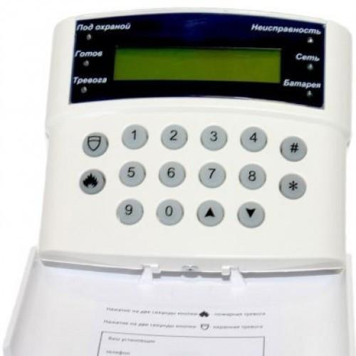 Б/У Жидкокристаллическая клавиатура ITV М8588К для ППК МАКС. Клавиатура для сигнализации МАКС