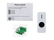 Кнопка выхода бесконтактная пластиковая накладная SEVEN K-7498ND, фото 2