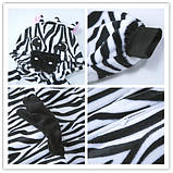 Кигуруми пижама Зебра, кигуруми Зебра для взрослых / Kig - 0027, фото 5