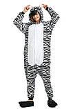Кигуруми пижама Зебра, кигуруми Зебра для взрослых / Kig - 0027, фото 2