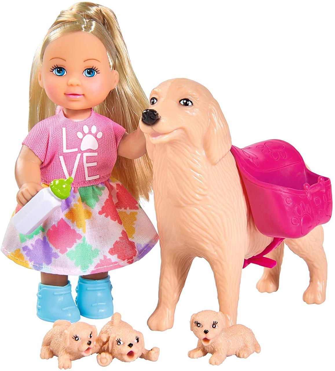 Кукольный набор Эви Няня для щенков  Simba 5733072