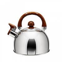 Чайник з нержавіючої сталі Zauberg 2 л ZB001, фото 1