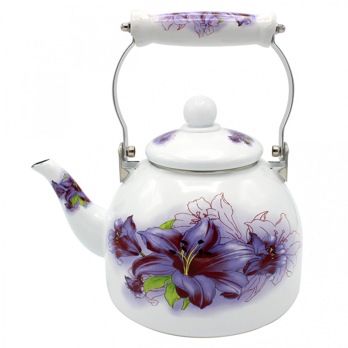 Чайник эмалированный Zauberg  2 л 6/L