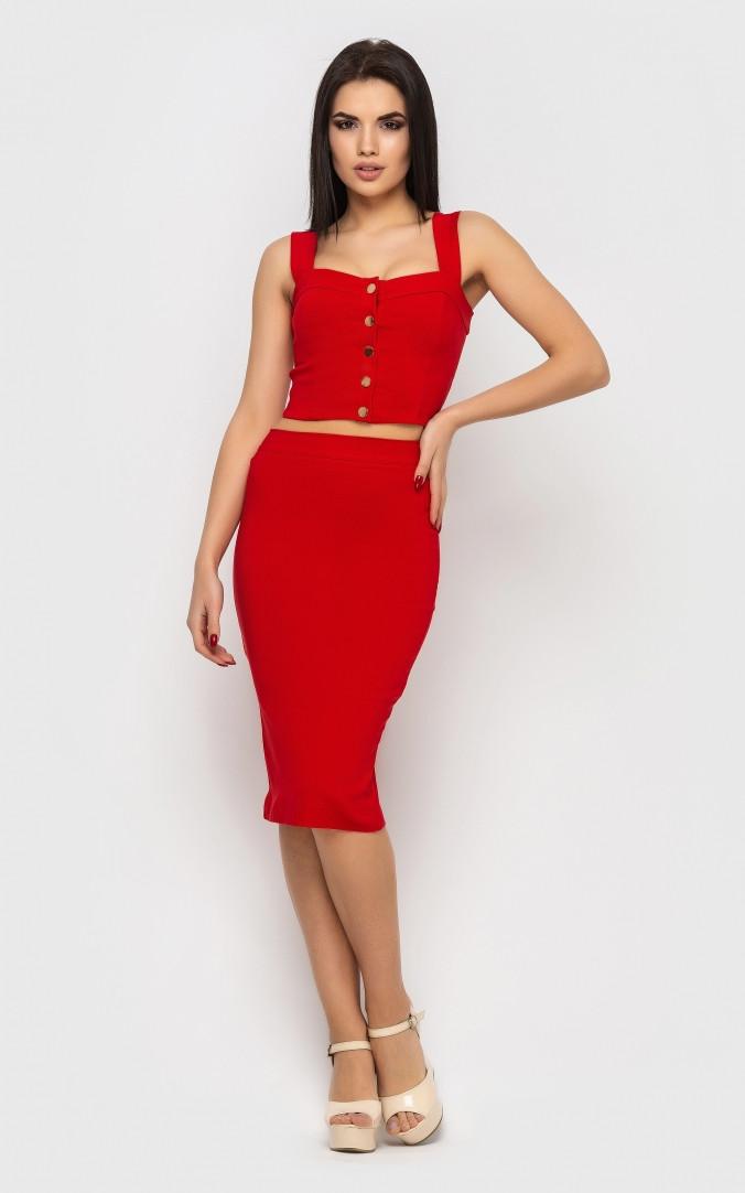 Яркий костюм (красный)