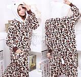 Кигуруми пижама Китти леопардовая, кигуруми Китти леопардовая для взрослых / Kig - 0029, фото 2