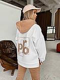 Теплый женский спортивный костюм с капюшоном 40-2152, фото 4