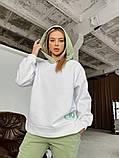 Теплый женский спортивный костюм с капюшоном 40-2152, фото 8