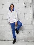Теплый женский спортивный костюм с капюшоном 40-2152, фото 2