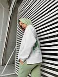 Теплый женский спортивный костюм с капюшоном 40-2152, фото 6
