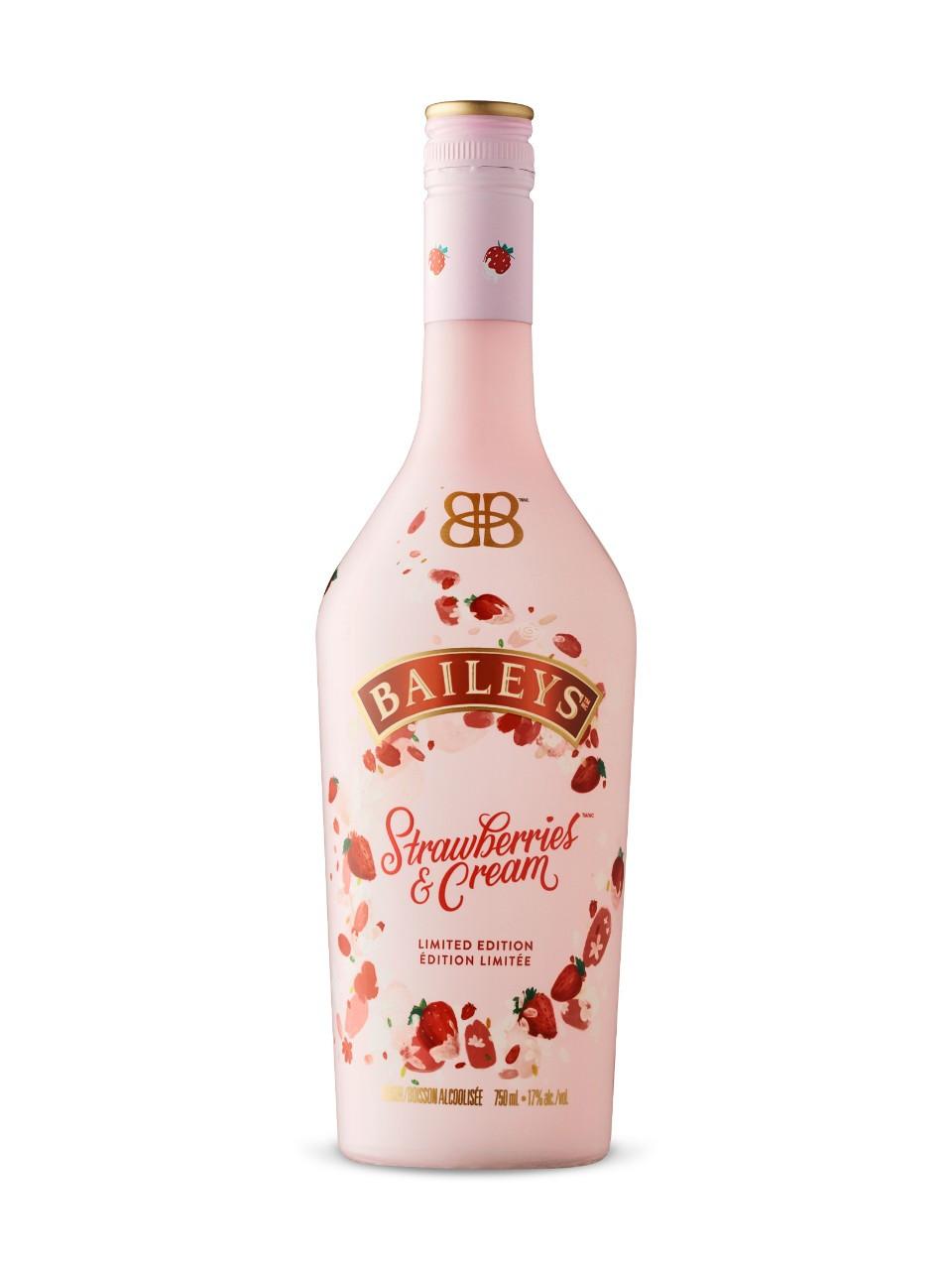 Ликер Baileys (Бейлиз) Strawberries Cream, лимитированная серия 0,7 л.