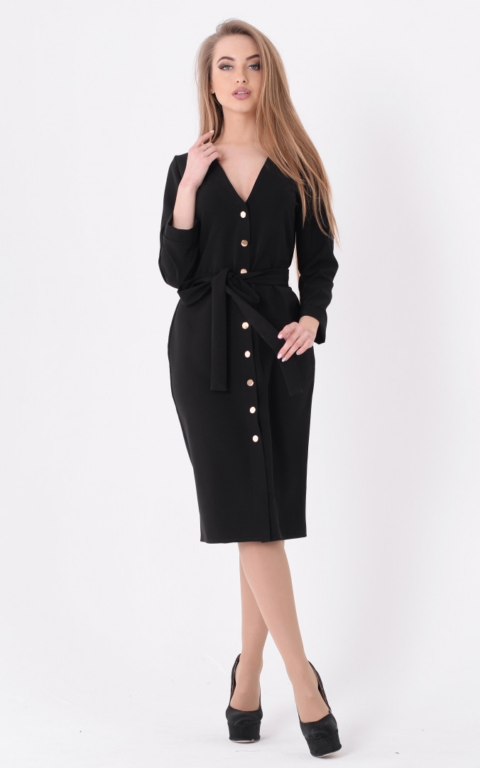 Трендовий сукню кнопки