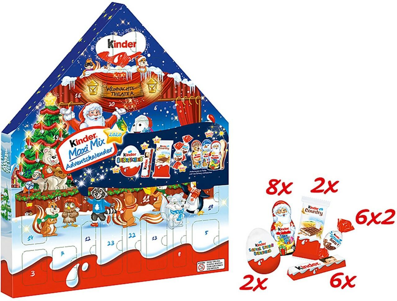 Шоколад у вигляді доміка календар новорічний адвент Kinder Stancja