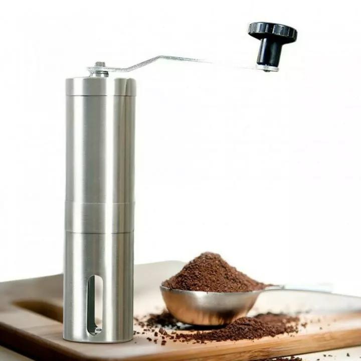 Ручна кавомолка жорновий
