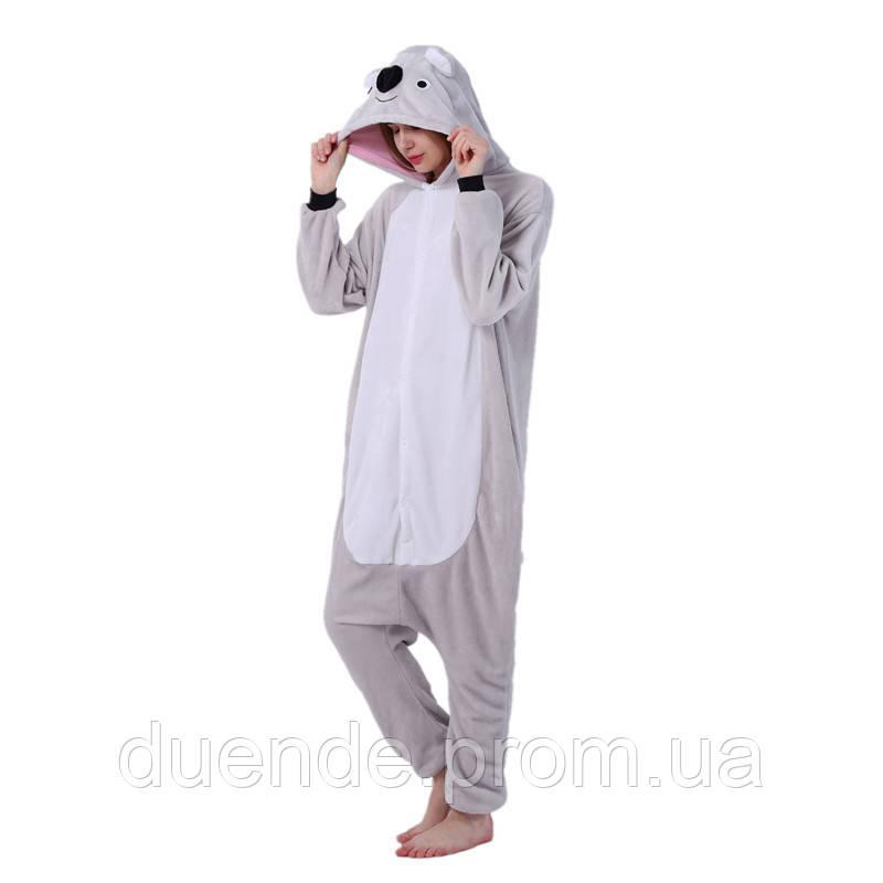 Кигуруми пижама Коала, кигуруми Коала для взрослых / Kig - 0032